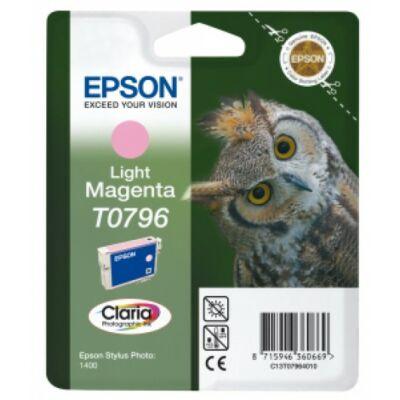 Epson T0796 Patron Light Magenta 11ml (Eredeti)