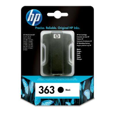 HP C8721EE Patron Black No.363 (Eredeti)