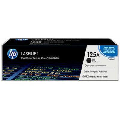 HP CB540AD Dupla Toner Black 2,2K No.125A (Eredeti)