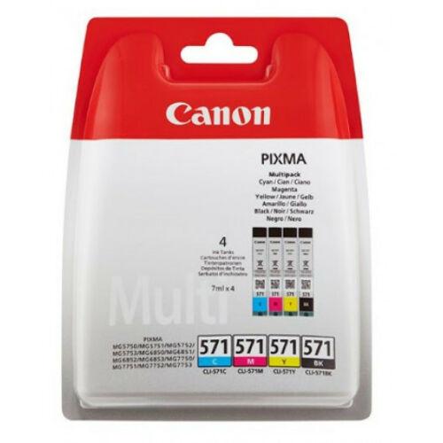 Canon CLI571 PatronMULTI C/M/Y/Bk 0386C005