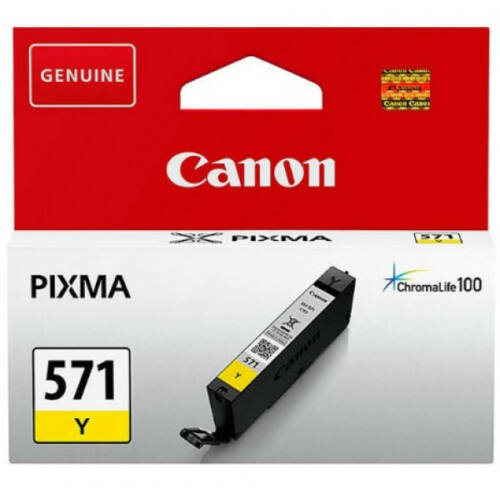 Canon CLI571 Patron Yellow 0388C001