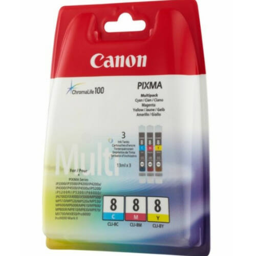 Canon CLI8 Multipack CMY 0621B029