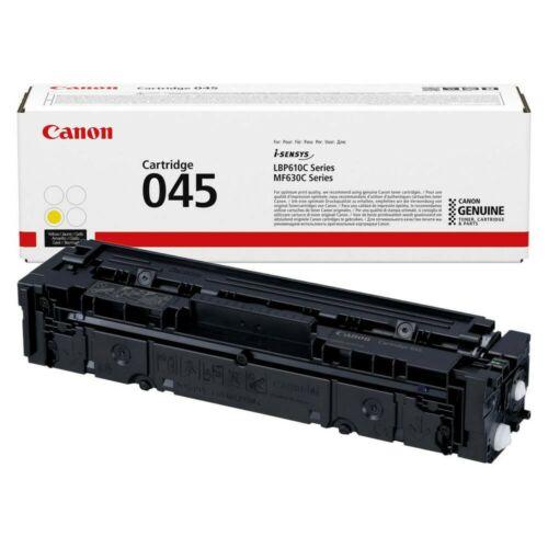 Canon CRG045 Toner Yellow /eredeti/ LBP611 1.300 oldal 1239C002