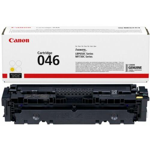 Canon CRG046 Toner Yellow /eredeti/ LBP654 2.300 oldal 1247C002