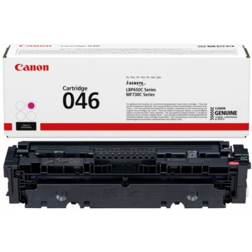 Canon CRG046 Toner Magenta /eredeti/ LBP654 2.300 oldal 1248C002