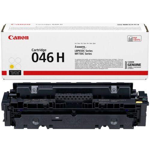 Canon CRG046H Toner Yellow /eredeti/ LBP654 5.000 oldal 1251C002