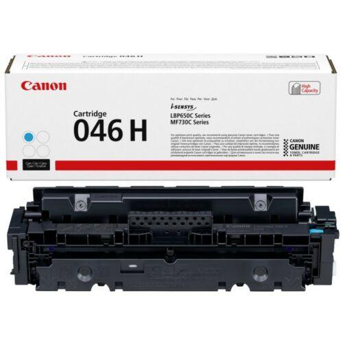 Canon CRG046H Toner Cyan /eredeti/ LBP654 5.000 oldal 1253C002