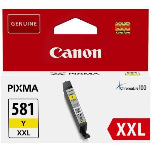 Canon CLI581XXL Patron Yellow /eredeti/ 1997C001