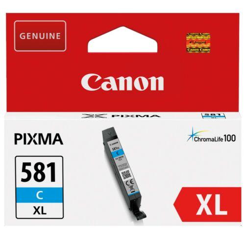 Canon CLI581XL Patron Cyan /eredeti/ 2049C001