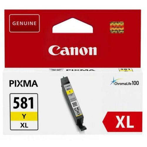 Canon CLI581XL Patron Yellow /eredeti/ 2051C001