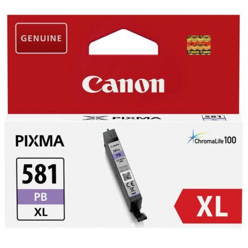 Canon CLI581XL Patron Blue Photo /eredeti/ 2053C001