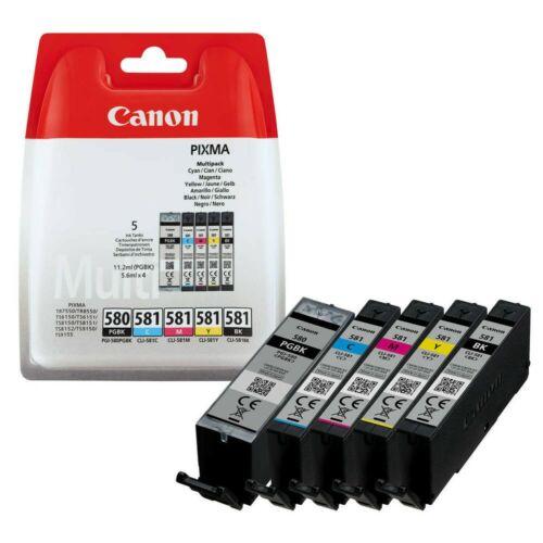 Canon PGI580/CLI581 PGBk/C/M/Y/Bk /EREDETI/ 2078C005