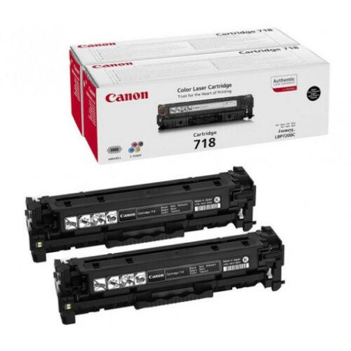 Canon CRG718 Toner Black DUPLA 2662B005