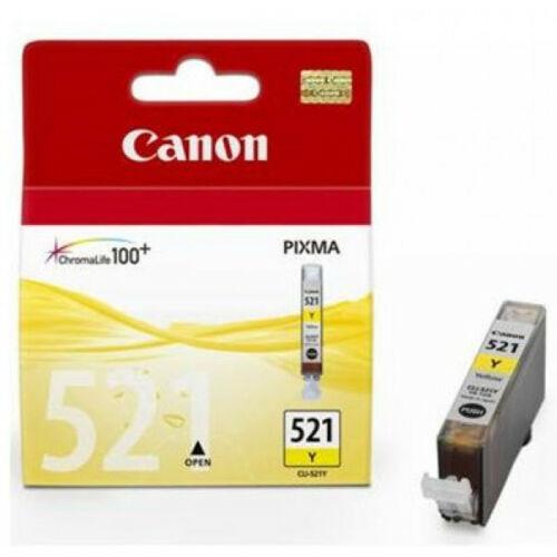 Canon CLI521 Patron Yellow 2936B001