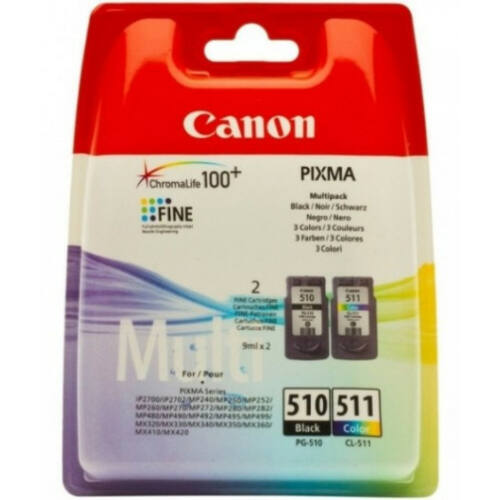 Canon PG510 + CL511 Multipack 2970B010