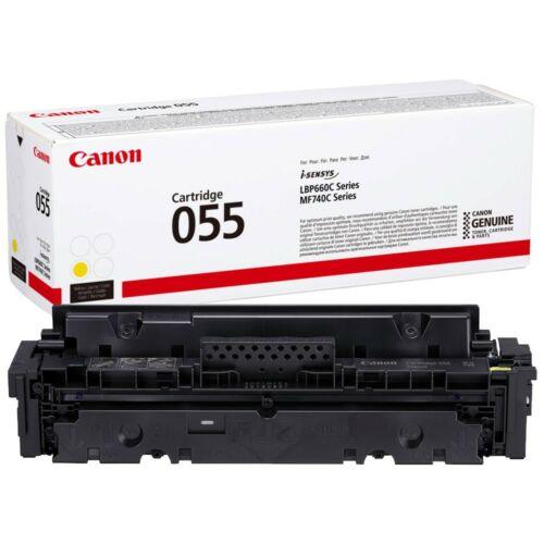 Canon CRG055 Toner Yellow 2,1K (EREDETI) 3013C002AA