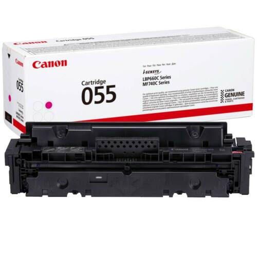 Canon CRG055 Toner Magenta 2,1K (EREDETI) 3014C002AA