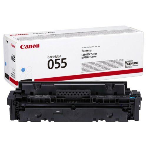 Canon CRG055 Toner Cyan 2,1K (EREDETI) 3015C002AA