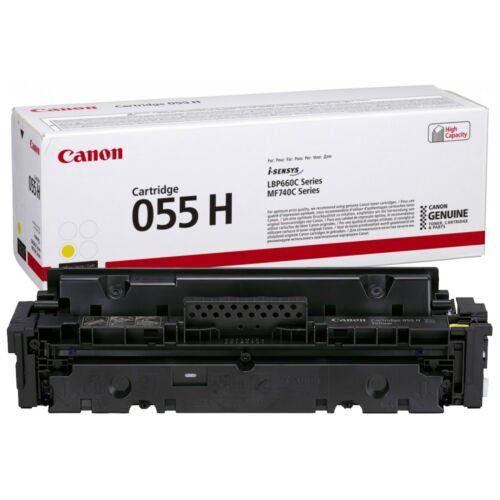 Canon CRG055H Toner Yellow 5,9K (EREDETI) 3017C002AA