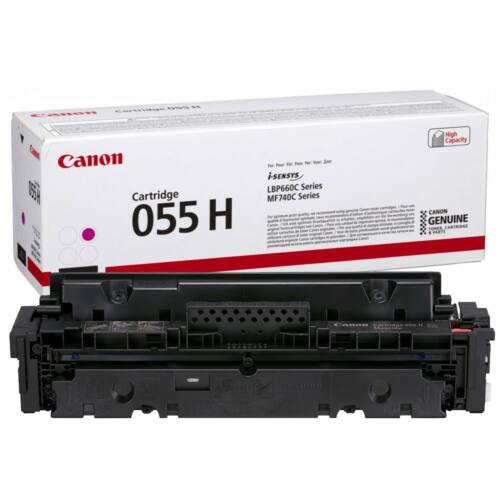 Canon CRG055H Toner Magenta 5,9K (EREDETI) 3018C002AA