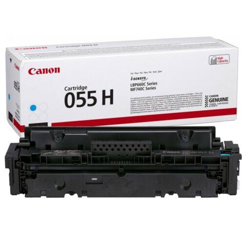 Canon CRG055H Toner Cyan 5,9K (EREDETI) 3019C002AA