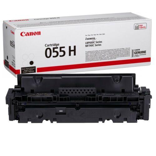 Canon CRG055H Toner Black 7,6K (EREDETI) 3020C002AA