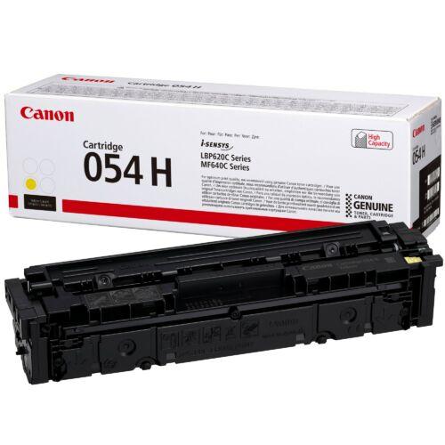 Canon CRG054H Toner Yellow 2,3K (EREDETI) 3025C002AA