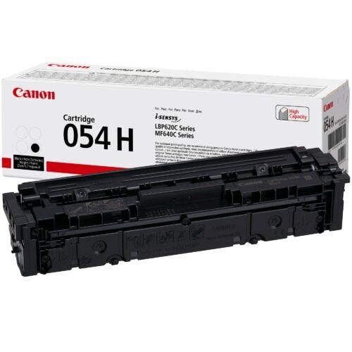 Canon CRG054H Toner Black 3,1K (EREDETI) 3028C002AA