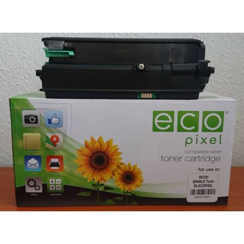 RICOH SP400LE Toner 5K ECOPIXEL  (For use)