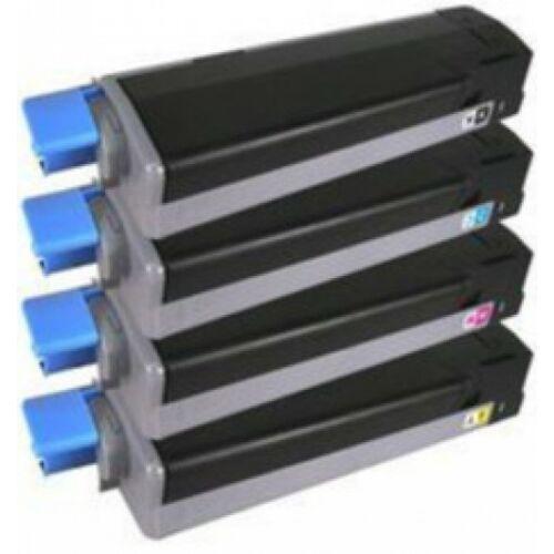 Oki C610 Toner Black 8K  CartridgeWeb (For use)