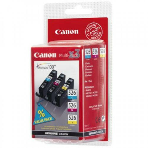 Canon CLI526 C/M/Y Multipack 4541B009