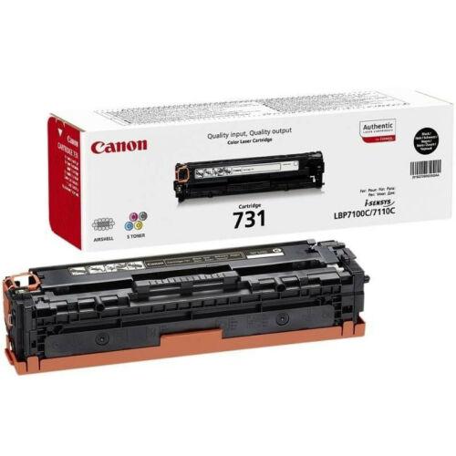 Canon CRG731 Black Toner 6272B002