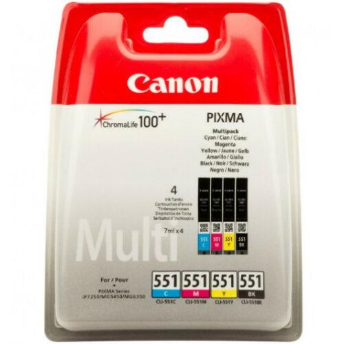 Canon CLI551 PatronMULTI C/M/Y/Bk 6509B009