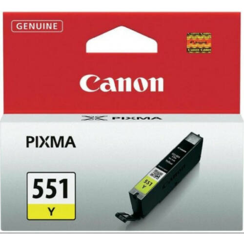 Canon CLI551 Patron Yellow 6511B001