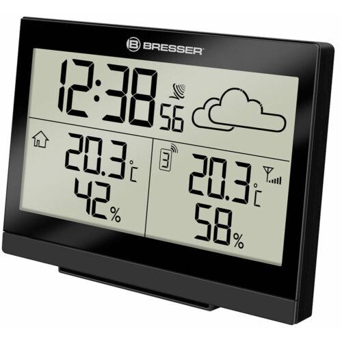 Bresser TemeoTrend LG RC időjárás állomás, fekete