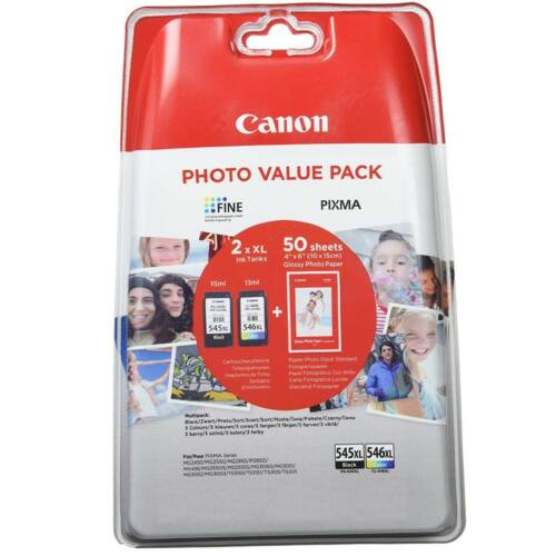 Canon PG545XL+CL546XL+10x15 GP501 Multipack /eredeti/ 8286B006