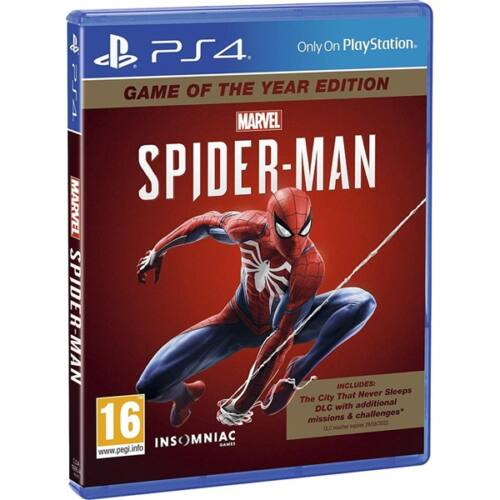 SONY PS4 Játék Marvels Spider-Man GOTY