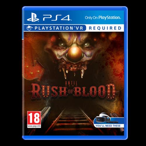 SONY PS4 Játék Until Dawn Rush of Blood VR