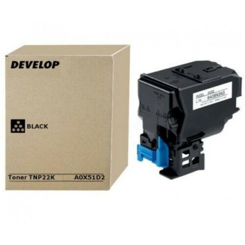 Develop ineo+35 Toner Black TNP22K /Eredeti/ A0X51D2