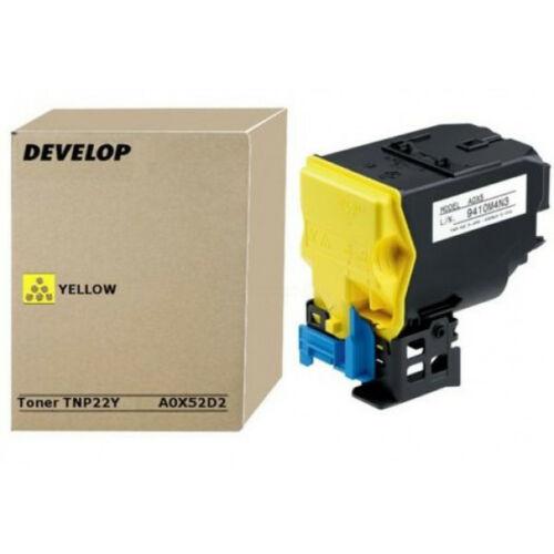 Develop ineo+35 Toner Yellow TNP22Y /Eredeti/ A0X52D2
