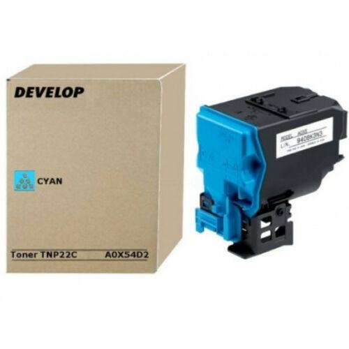 Develop ineo+35 Toner Cyan TNP22C /Eredeti/ A0X54D2