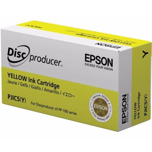 Epson PJIC5 Patron Yellow 26ml (Eredeti) C13S020451