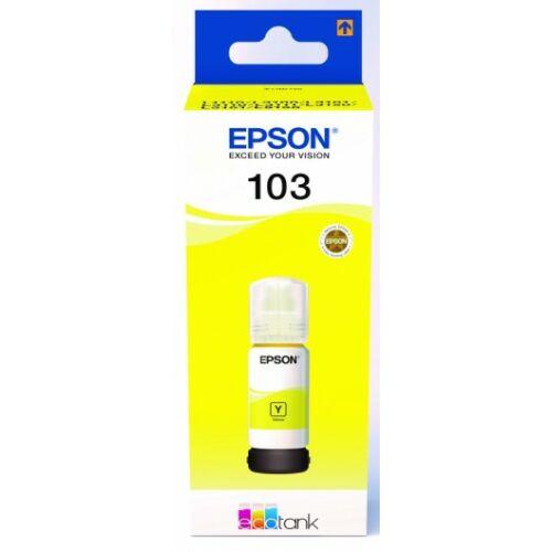 Epson T00S4 Tinta Yellow 70ml No.103 (Eredeti) C13T00S44A