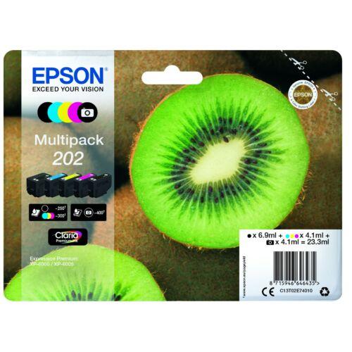 Epson T02E7 Multipack 202 (Eredeti) C13T02E74010