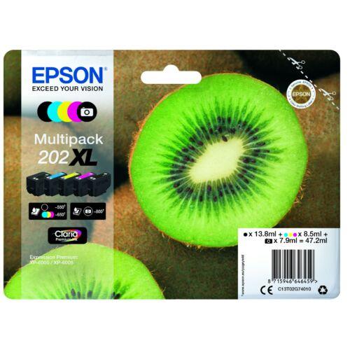 Epson T02G7 Patron Multipack 202XL (Eredeti) C13T02G74010