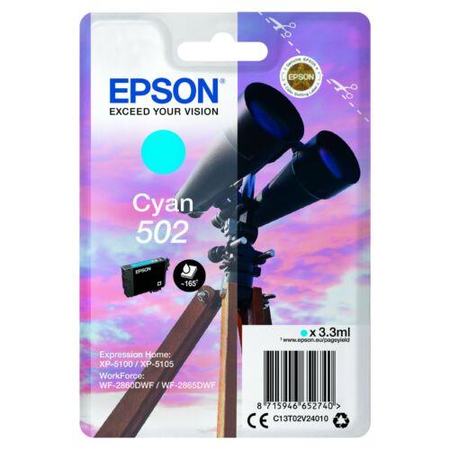 Epson T02V2 Patron Cyan 3,3ml (Eredeti) C13T02V24010