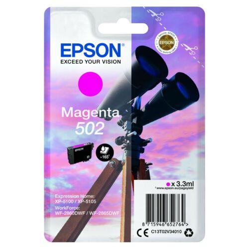 Epson T02V3 Patron Magenta 3,3ml (Eredeti) C13T02V34010