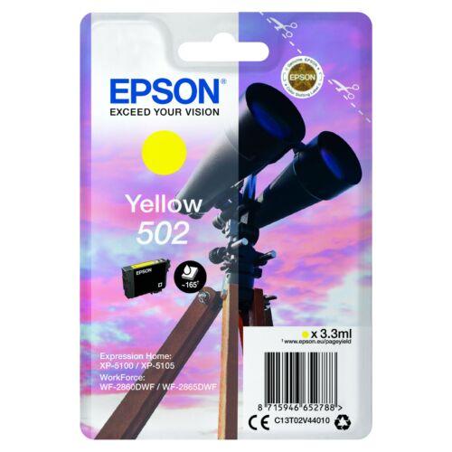 Epson T02V4 Patron Yellow 3,3ml (Eredeti) C13T02V44010