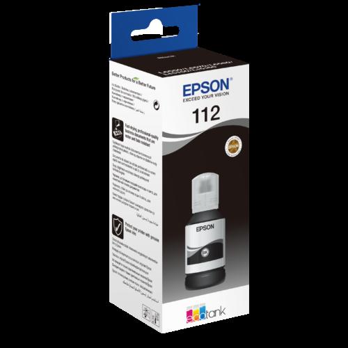 Epson T06C1 Tinta Black 127ml No.112 (Eredeti) C13T06C14A