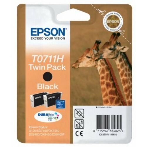 Epson T07114H Patron Black 2x11ml (Eredeti) C13T07114H10